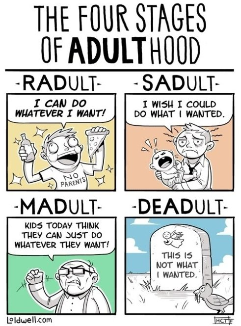 Become An Adult